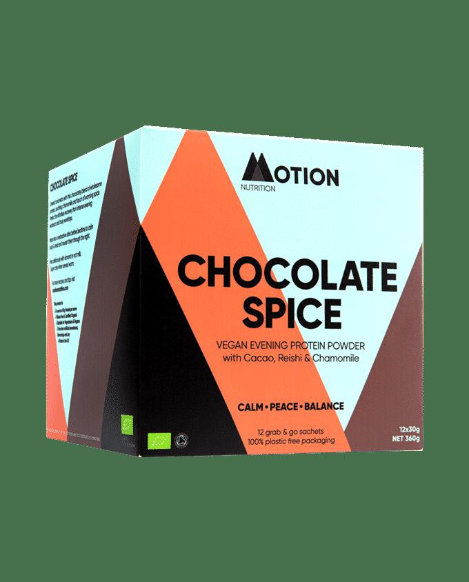 Chocolate Spice Evening Shake – Organic Vegan Protein