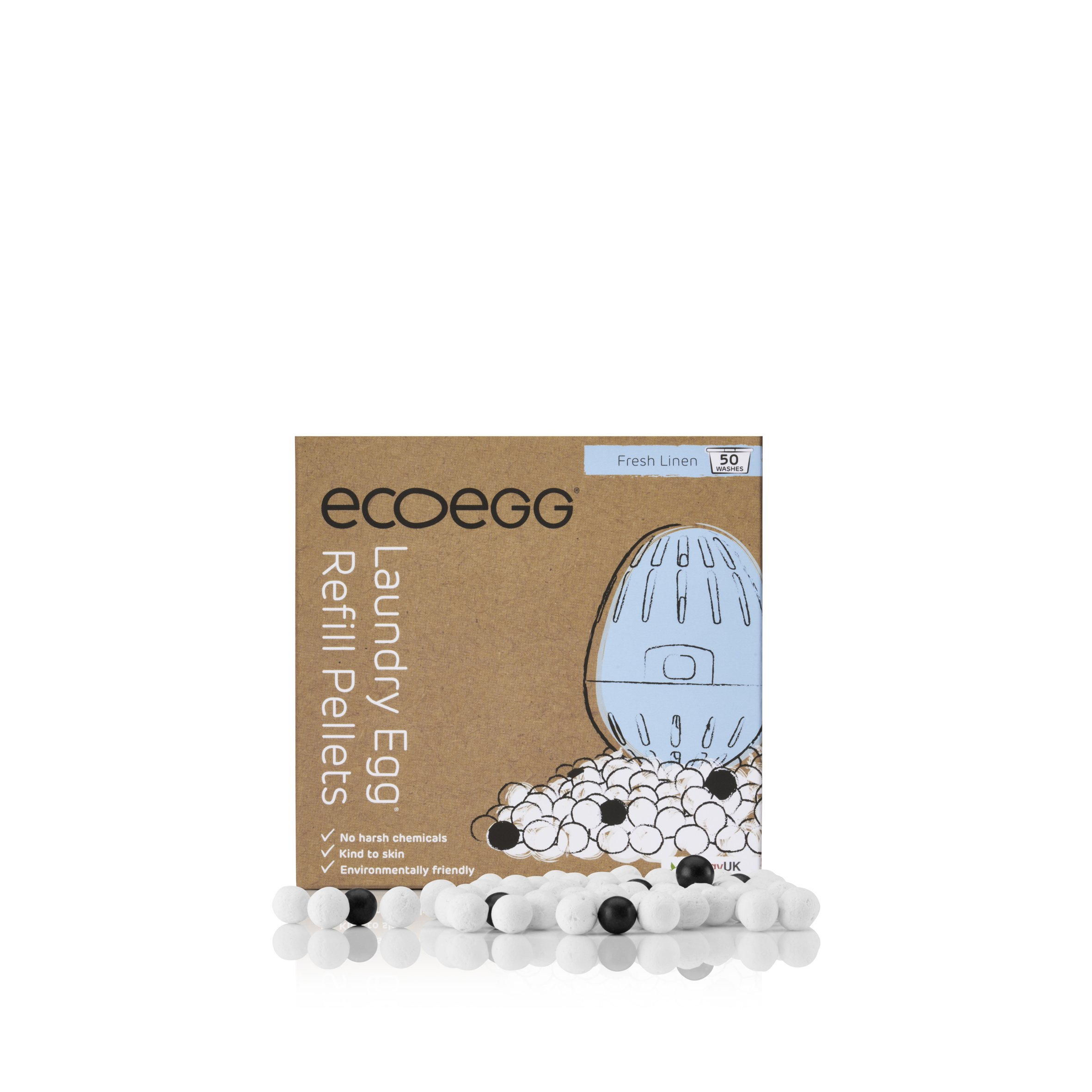 ecoegg Laundry Egg Refills - 50 washes