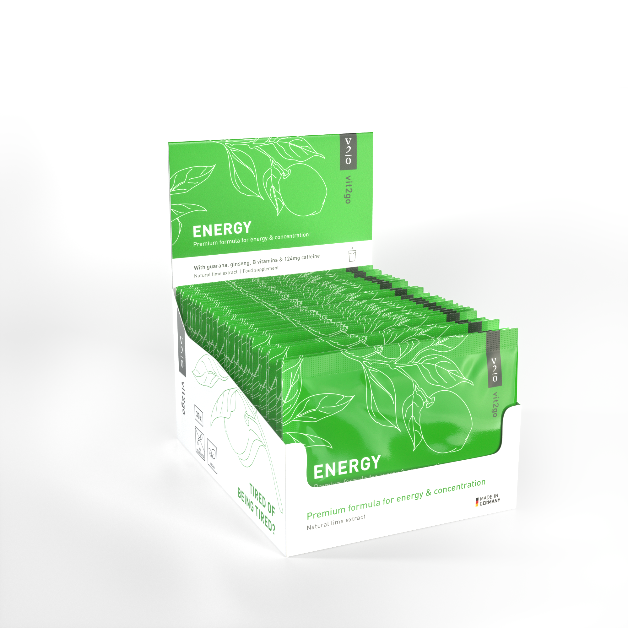 Natural Energy Booster 30-Pack