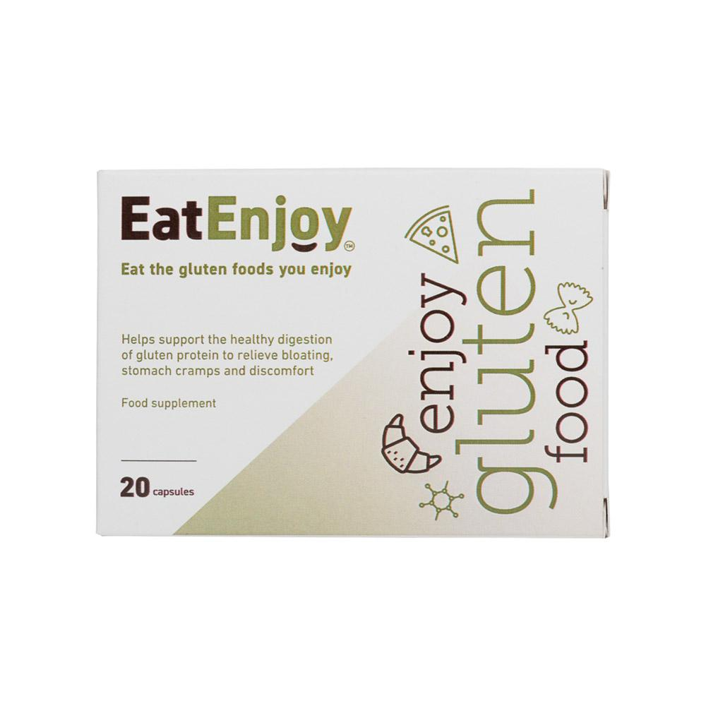 EatEnjoy Gluten Digestive Enzyme Supplement