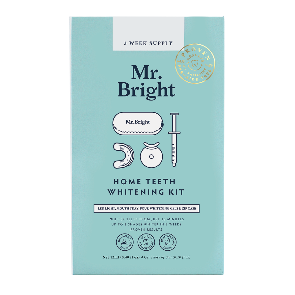 Flash sale: Mr. Bright Teeth Whitening Kit + Mr. Bright Teeth Whitening Pen