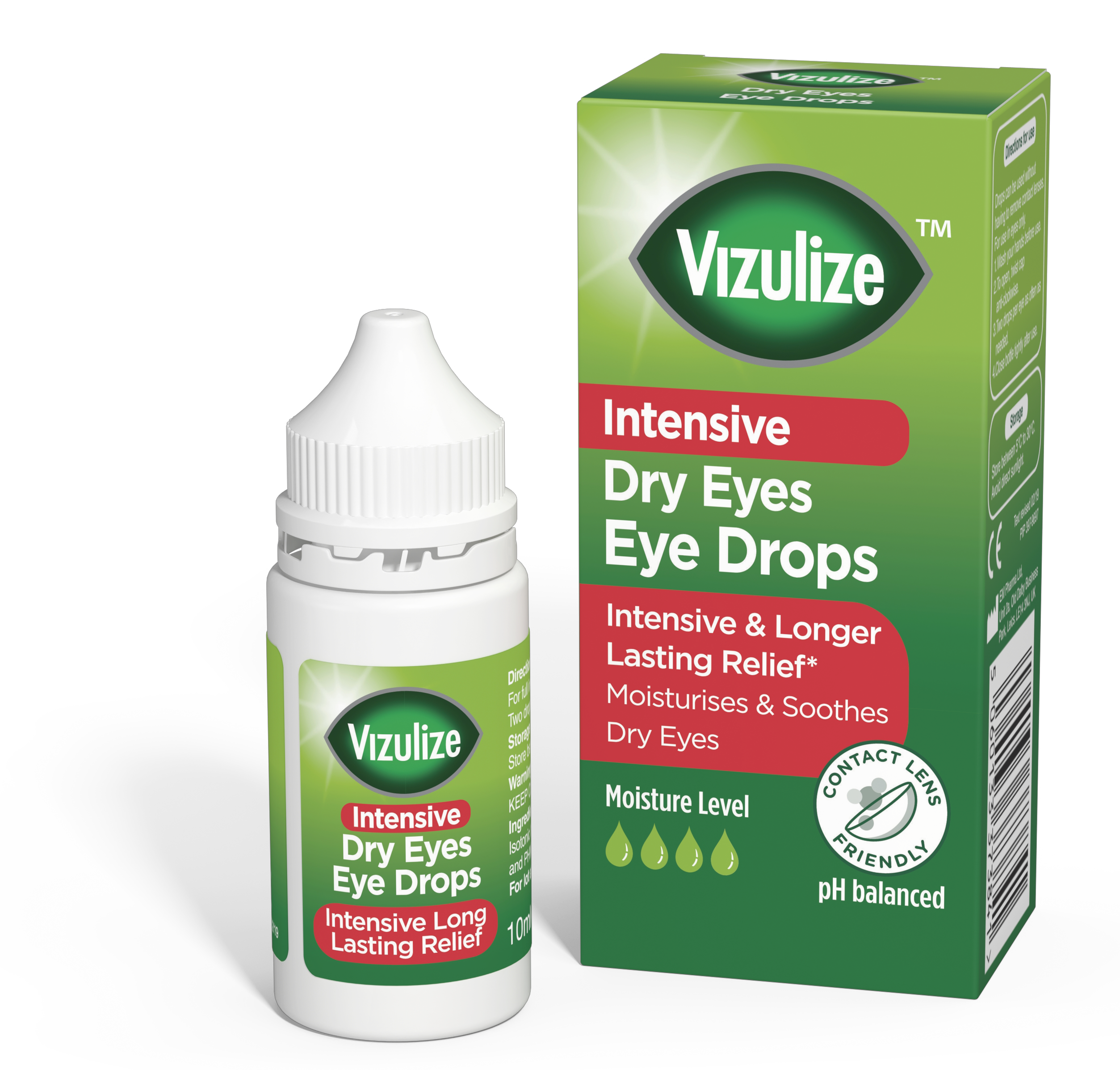 Vizulize Intensive Dry Eyes Eye Drops